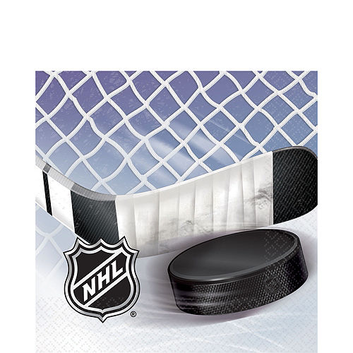 NHL Ice Time Lunch Napkins 16ct Image #1