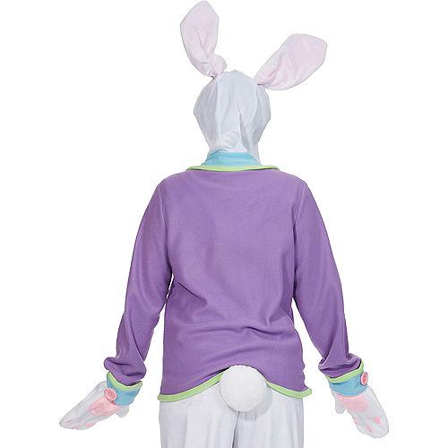 Adult Purple Bunny Costume Image #2