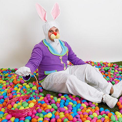 Adult Purple Bunny Costume Image #5