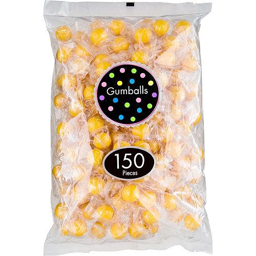 Yellow Gumballs 150pc Image #1