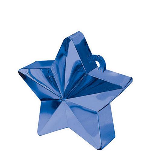 Blue Star Balloon Weight Image #1