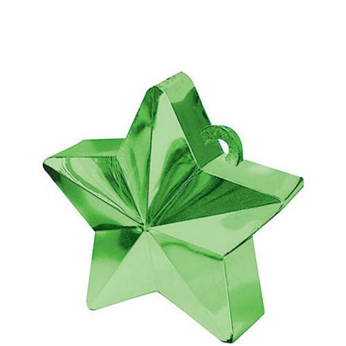 Green Star Balloon Weight Image #1