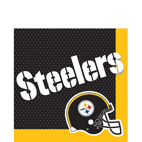 Pittsburgh Steelers Lunch Napkins 36ct Image #1
