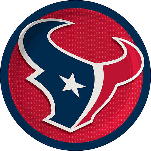 Houston Texans Lunch Plates 18ct Image #1