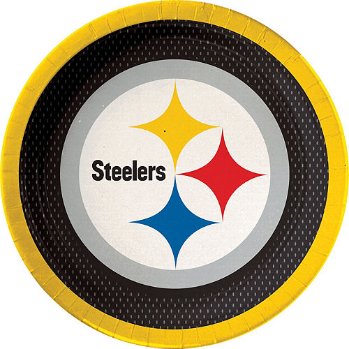 Pittsburgh Steelers Lunch Plates 18ct Image #1