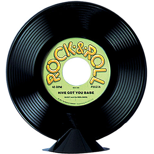 Rock 'n' Roll 50s Record Centerpiece Image #1