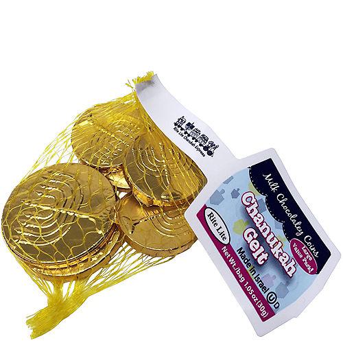Kosher Chocolate Gelt Coin Bag Image #1