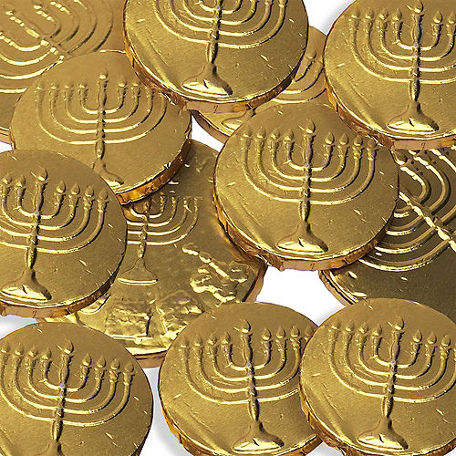 Kosher Chocolate Gelt Coin Bag Image #2