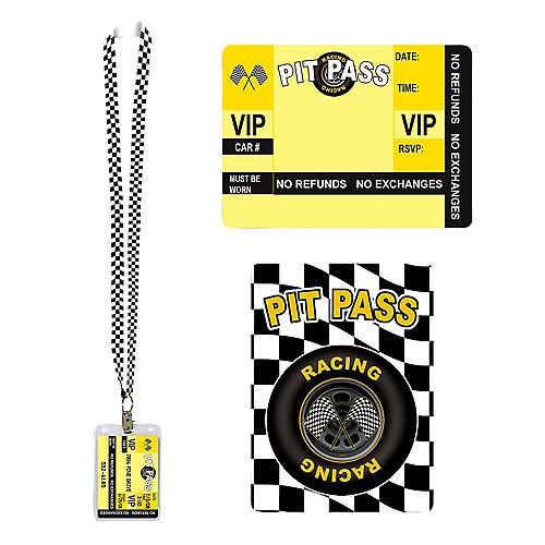 Racing Pit Pass Invitation Image #1