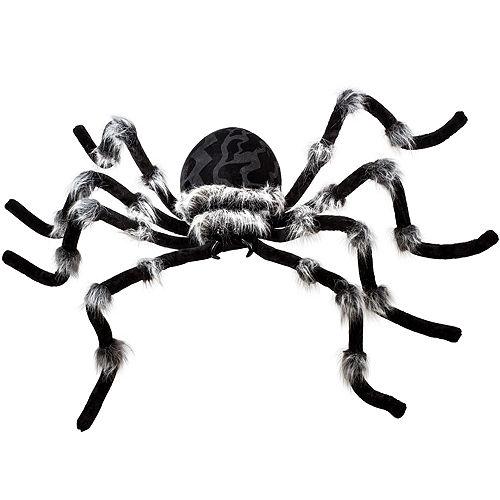 Light-Up Hairy Black Spider Image #1