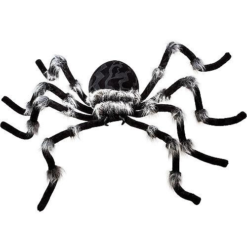 Light-Up Hairy Black Spider Image #2