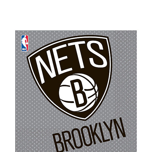 Brooklyn Nets Lunch Napkins 16ct Image #1
