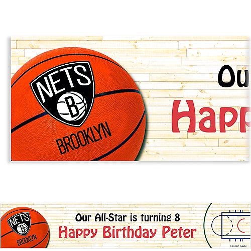 Custom Brooklyn Nets Banner 6ft Image #1