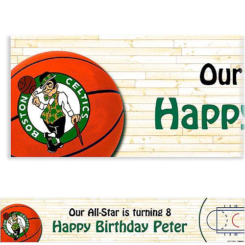 Custom Boston Celtics Banner 6ft Image #1