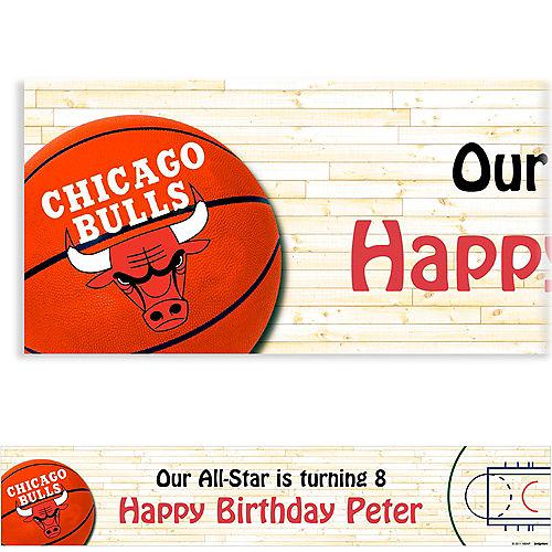 Custom Chicago Bulls Banner 6ft Image #1