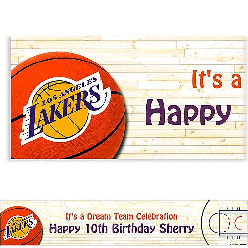 Custom Los Angeles Lakers Banner 6ft Image #1