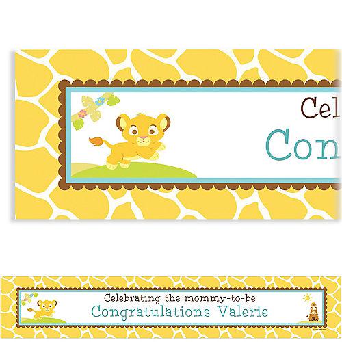 Custom Lion King Baby Shower Baby Shower Banner 6ft Image #1