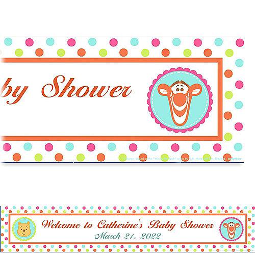 Custom Winnie the Pooh Baby Shower Baby Shower Banner 6ft Image #1