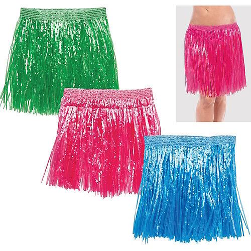Adult Hula Skirts 3ct Image #1
