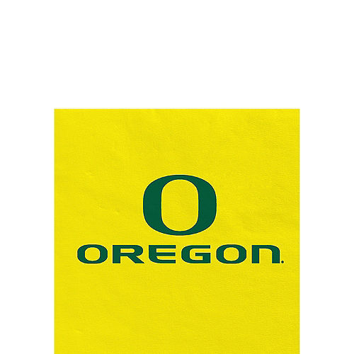 Oregon Ducks Beverage Napkins 24ct Image #1