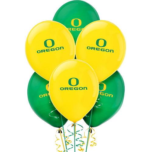 Oregon Ducks Balloons 10ct Image #1