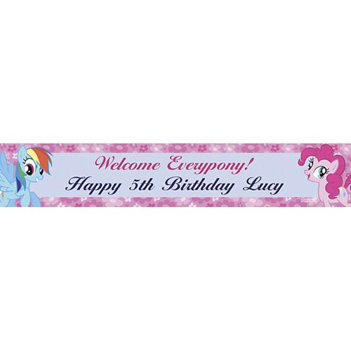 Custom My Little Pony Friends Banner 6ft Image #1