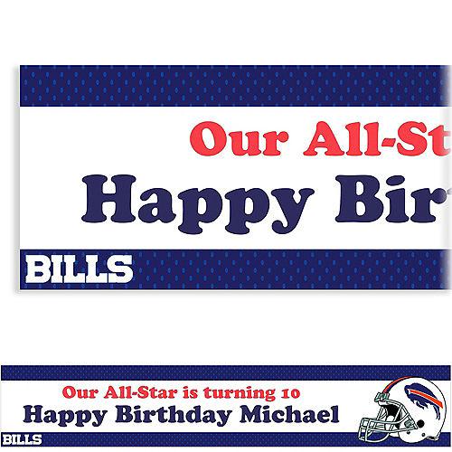 Custom Buffalo Bills Banner 6ft Image #1