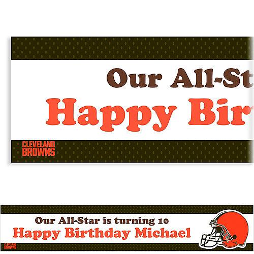 Custom Cleveland Browns Banner 6ft Image #1