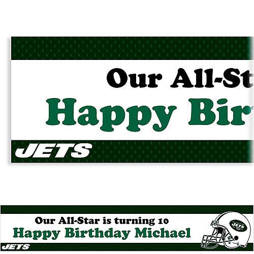Custom New York Jets Banner 6ft Image #1