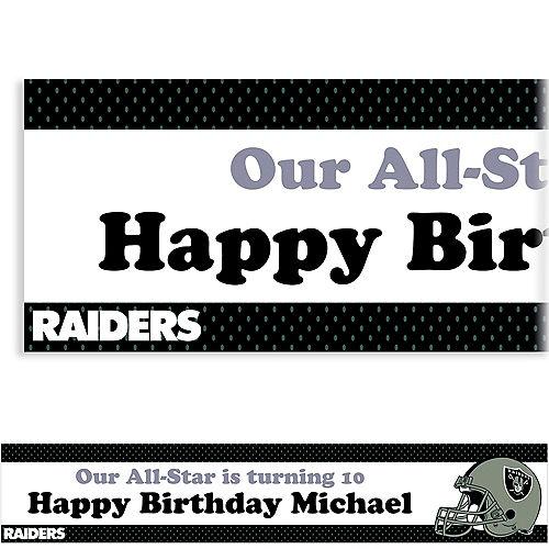 Custom Las Vegas Raiders Banner 6ft Image #1