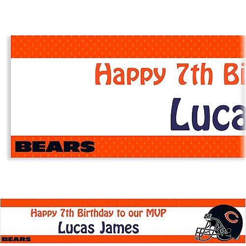 Custom Chicago Bears Banner 6ft Image #1