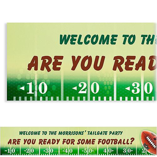 Custom NFL Drive Banner 6ft Image #1