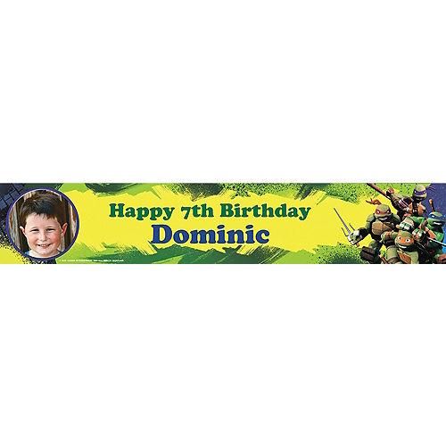 Custom Teenage Mutant Ninja Turtles Photo Banner 6ft Image #1