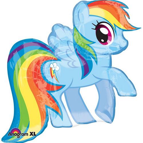 My Little Pony Balloon - Rainbow Dash Image #1