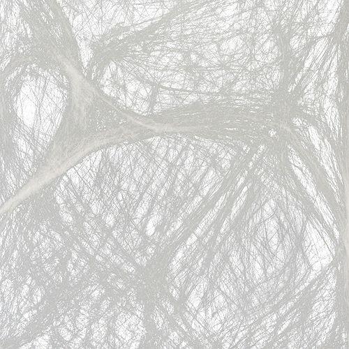 White Stretch Spider Web Image #2
