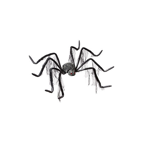 Nav Item for Gray Gauzy Poseable Spider Image #2