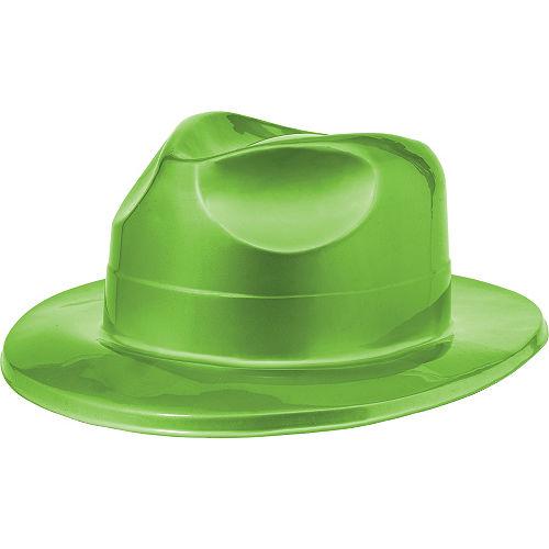 Shiny Green Fedora Image #1