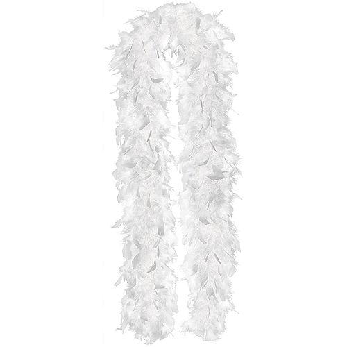 White Feather Boa Image #1