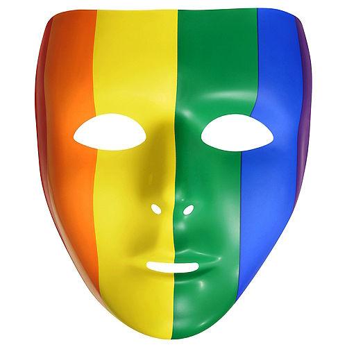 Rainbow Face Mask Image #1
