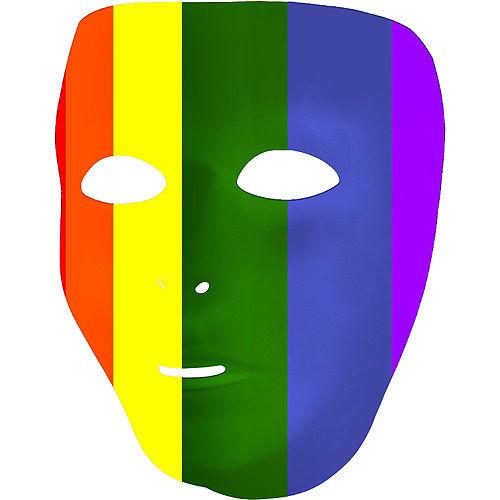 Rainbow Face Mask Image #2