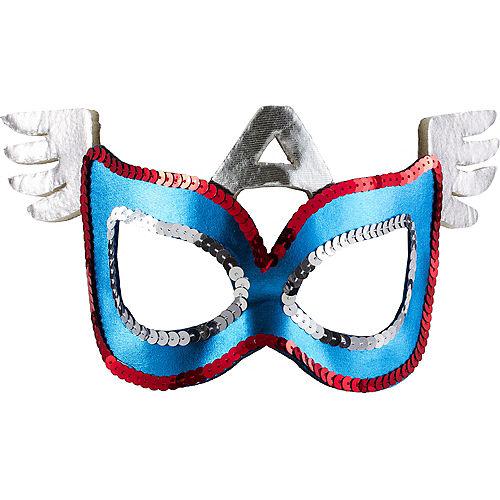 Child Plastic American Dream Mask Image #1
