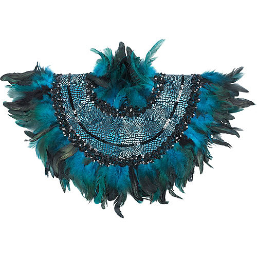 Peacock Feather Collar Image #1