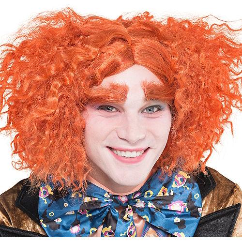 Mad Hatter Wig & Eyebrows Set Image #1
