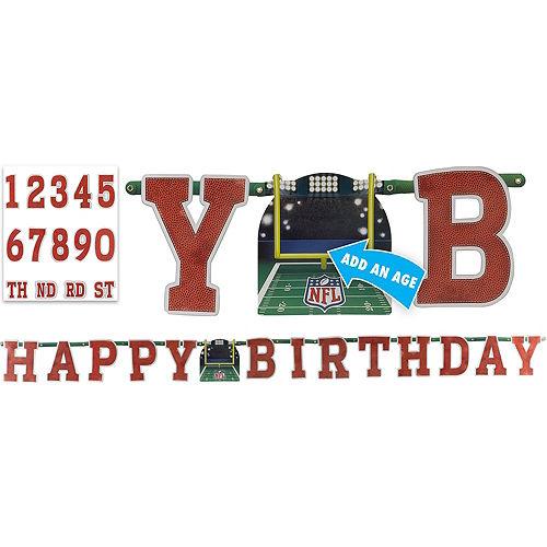 NFL Drive Birthday Banner Image #1