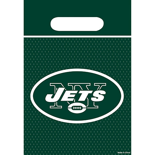 New York Jets Favor Bags 8ct Image #1