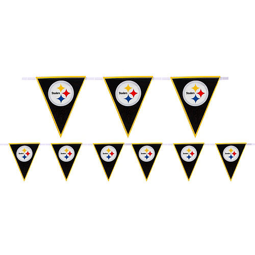 Pittsburgh Steelers Pennant Banner Image #1