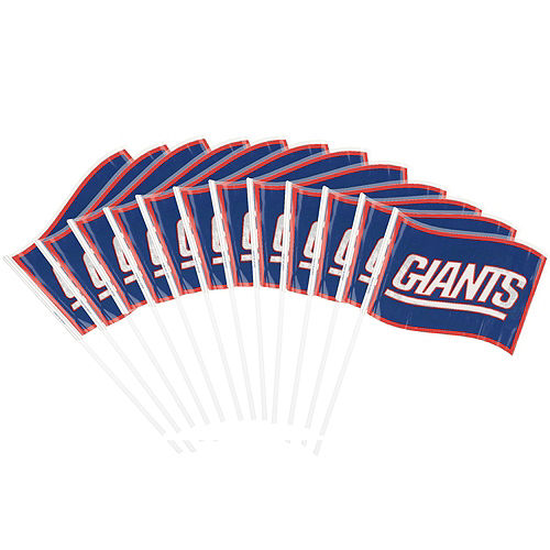 New York Giants Flags 12ct Image #1