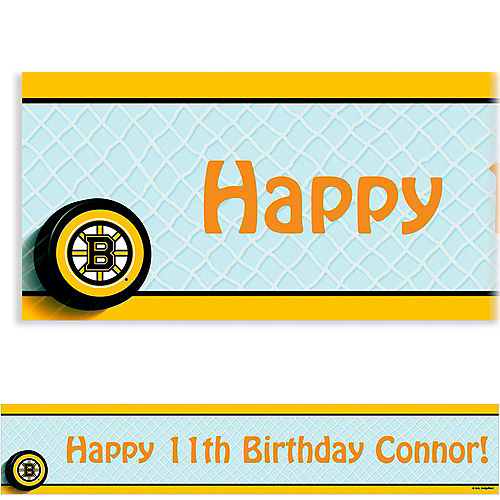 Custom Boston Bruins Banner 6ft Image #1