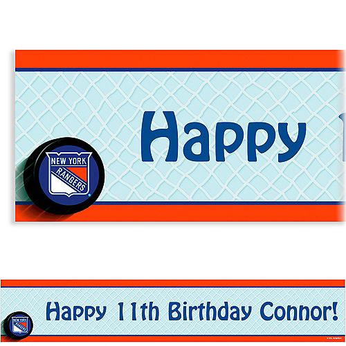 Custom New York Rangers Banner 6ft Image #1