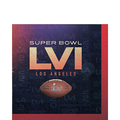 Super Bowl Lunch Napkins, 6.5in, 36ct Image #1